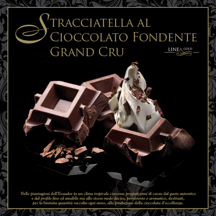 Italian gelato ingredients | Ice cream products | Buy online | DARK COVERING GRAND CRU-GOLD LINE Leagel on Coverings