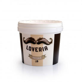 Italian gelato ingredients | Ice cream products | Buy online | LOVERIA HAZELNUT CREAM Leagel on Cremino
