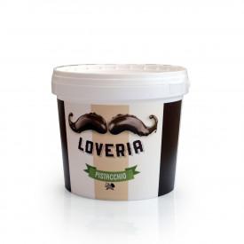 Prodotti per gelateria | Acquista online su Gelq.it | CREMA LOVERIA AL PISTACCHIO di Leagel. Cremini per gelato.