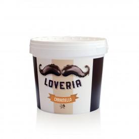 Gelq.it | LOVERIA CARAMEL CREAM Leagel | Italian gelato ingredients | Buy online | Cremino