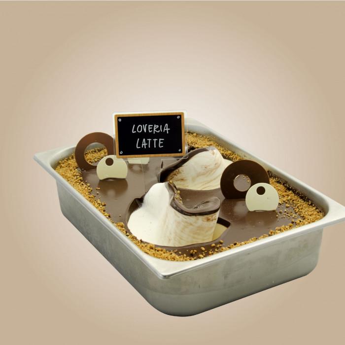 Gelq.it   LOVERIA MILK CHOCOLATE CREAM Leagel   Italian gelato ingredients   Buy online   Cremino