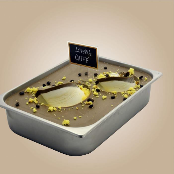 Italian gelato ingredients | Ice cream products | Buy online | LOVERIA COFFEE CREAM Leagel on Cremino