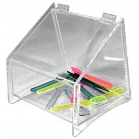 Accessori per gelateria | Acquista online su Gelq.it | PORTACUCCHIAINI PLEXIGLASS - CM.15 di Gelq Accessories.