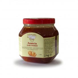 Prodotti per gelateria | Acquista online su Gelq.it | VARIEGATO ARANCIA (CON SCORZE) di Leagel. Variegati Frutta per gelato.