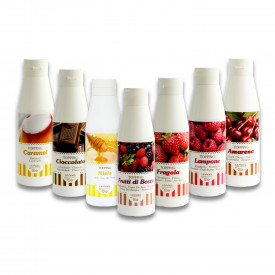 Gelq.it | WHITE CHOCOLATE CREAM IN BOTTLE Leagel | Italian gelato ingredients | Buy online | Creamy ripples