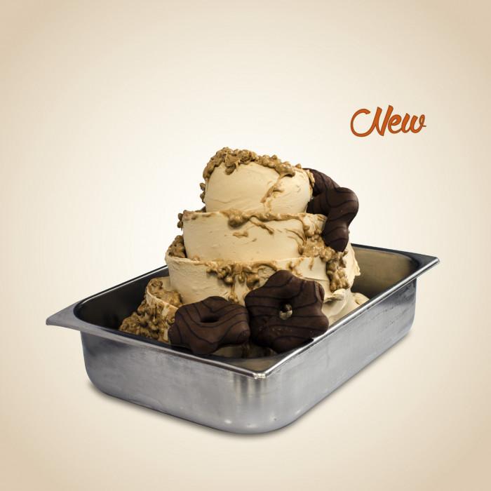Italian gelato ingredients | Ice cream products | Buy online | LEBKUCHEN CREAM (BISCUIT) Leagel on Creamy ripples
