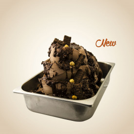 Italian gelato ingredients | Ice cream products | Buy online | CIOCCOCRUNCH CREAM (HAZELNUT WAFER) Leagel on Crunchy cream