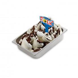 Italian gelato ingredients | Ice cream products | Buy online | GELATO ROCK CREAM (CHOCOLATE HAZELNUT) Leagel on Crunchy cream