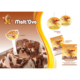 Italian gelato ingredients | Ice cream products | Buy online | MALT'OVO CREAM (MALT EGG) Leagel on Crunchy cream