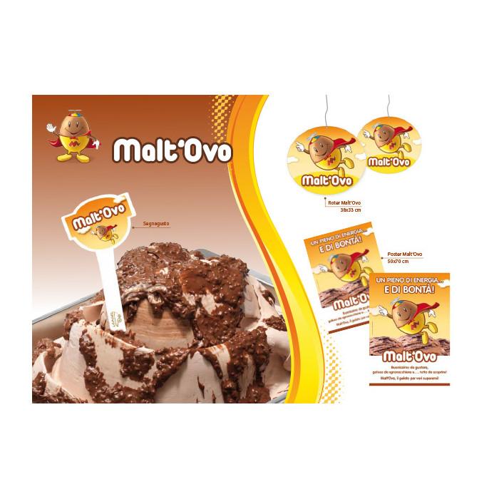 Prodotti per gelateria | Acquista online su Gelq.it | VARIEGATO MALT'OVO di Leagel. Creme croccanti per gelato.