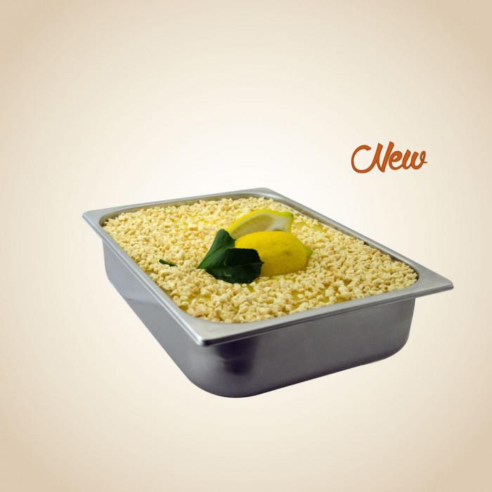 Prodotti per gelateria | Acquista online su Gelq.it | GRANELLA LEMON PIE di Leagel. Decorazioni per gelato artigianale.