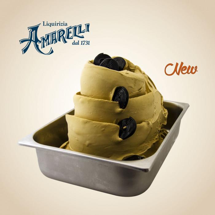 Gelq.it | LICORICE POWDER AMARELLI Leagel | Italian gelato ingredients | Buy online | Ice cream traditional pastes
