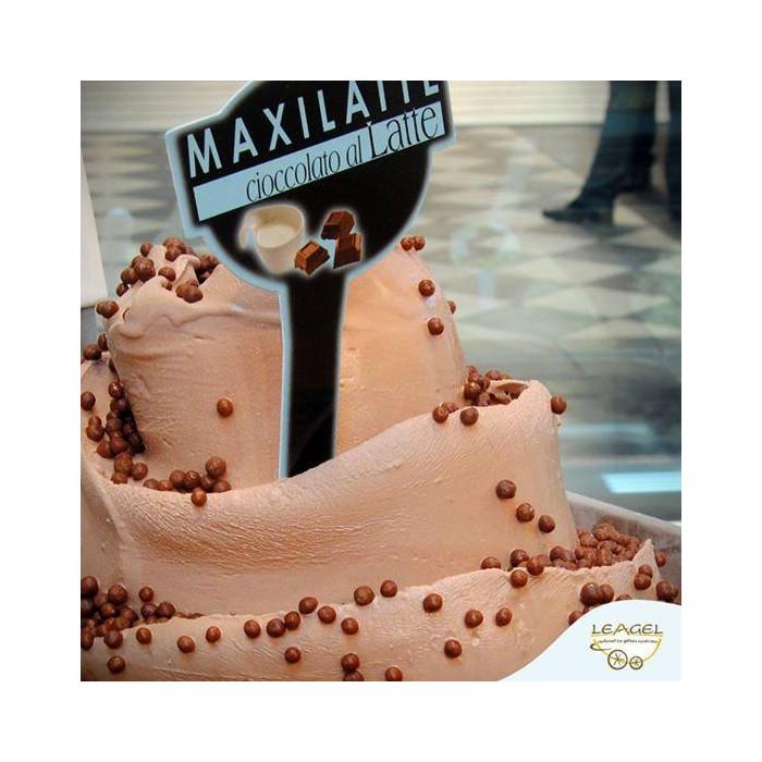 Prodotti per gelateria | Acquista online su Gelq.it | BASE CIOCCOLATO BOX MAXILATTE di Leagel. Basi gelato al cioccolato.