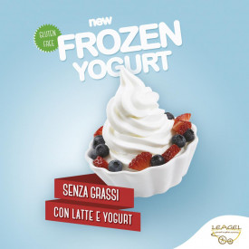 Gelq.it | BASE FROZEN YOGURT Leagel | Italian gelato ingredients | Buy online | Soft serve ice cream bases