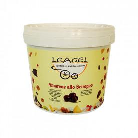 Prodotti per gelateria | Acquista online su Gelq.it | AMARENE ALLO SCIROPPO di Leagel. Variegati Frutta per gelato.