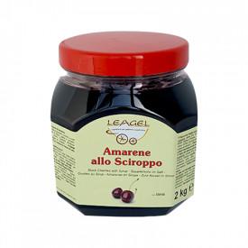 Prodotti per gelateria | Acquista online su Gelq.it | AMARENE ALLO SCIROPPO IN VASO di Leagel. Variegati Frutta per gelato.