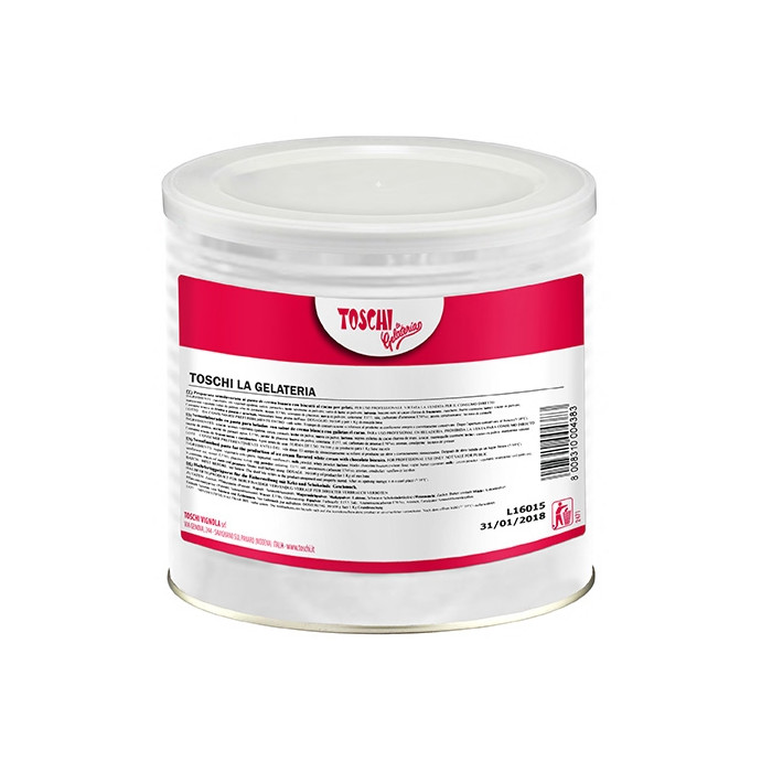 Italian gelato ingredients | Ice cream products | Buy online | STRAWBERRY CREAM Toschi Vignola on Fruit ripples