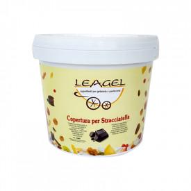 Prodotti per gelateria | Acquista online su Gelq.it | COPERTURA PER STRACCIATELLA CLASSICA  Leagel in Coperture