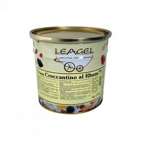 Prodotti per gelateria | Acquista online su Gelq.it | PASTA CROCCANTINO AL RHUM di Leagel. Paste gelato classiche.