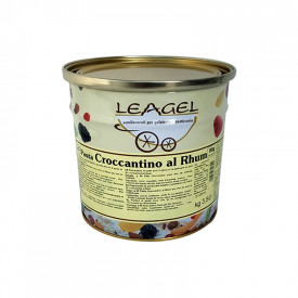 Italian gelato ingredients | Ice cream products | Buy online | RUM CRISPY PASTE Leagel on Traditional flavors