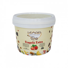 Italian gelato ingredients | Ice cream products | Buy online | EXTRA STRAWBERRY PASTE Leagel on Fruit flavors