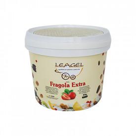 Prodotti per gelateria | Acquista online su Gelq.it | PASTA FRAGOLA EXTRA  Leagel in Paste di frutta