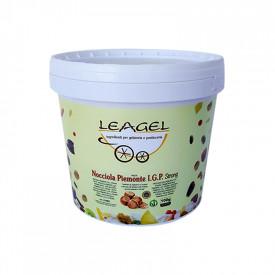 Prodotti per gelateria | Acquista online su Gelq.it | PASTA NOCCIOLA PIEMONTE IGP STRONG di Leagel. Paste grasse.