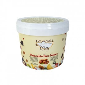 Italian gelato ingredients | Ice cream products | Buy online | PURE PISTACHIO PASTE NATURE Leagel on Nuts flavors