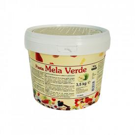 Gelq.it | GREEN APPLE PASTE Leagel | Italian gelato ingredients | Buy online | Fruit ice cream pastes
