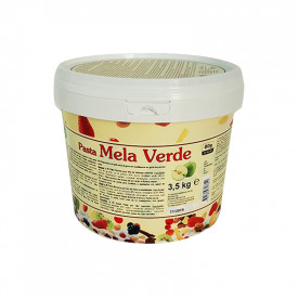 Prodotti per gelateria | Acquista online su Gelq.it | PASTA MELA VERDE di Leagel. Paste frutta gelato.