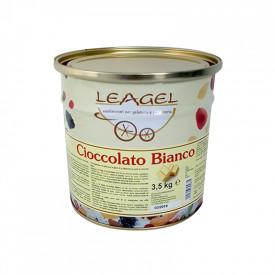 Prodotti per gelateria | Acquista online su Gelq.it | PASTA CIOCCOLATO BIANCO di Leagel. Paste gelato classiche.