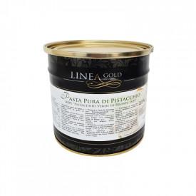 Prodotti per gelateria | Acquista online su Gelq.it | PASTA PURA DI PISTACCHIO 100% PISTACCHIO VERDE DI BRONTE DOP - LINEA GOLD