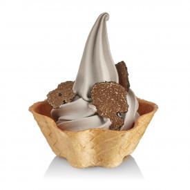 Prodotti per gelateria | Acquista online su Gelq.it | BASE SOFT TARTUFO NERO di Rubicone. Basi gelato soft.