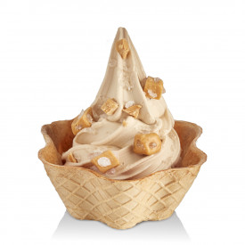 Gelq.it | BASE SOFT SALTED CARAMEL Rubicone | Italian gelato ingredients | Buy online | Soft serve ice cream bases