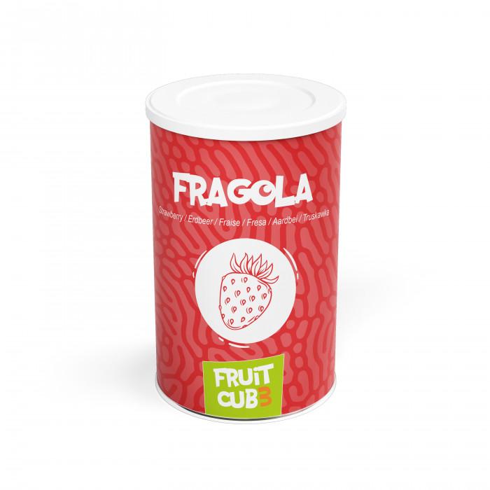 Prodotti per gelateria | Acquista online su Gelq.it | FRUITCUB3 FRAGOLA di Leagel. Paste frutta gelato.