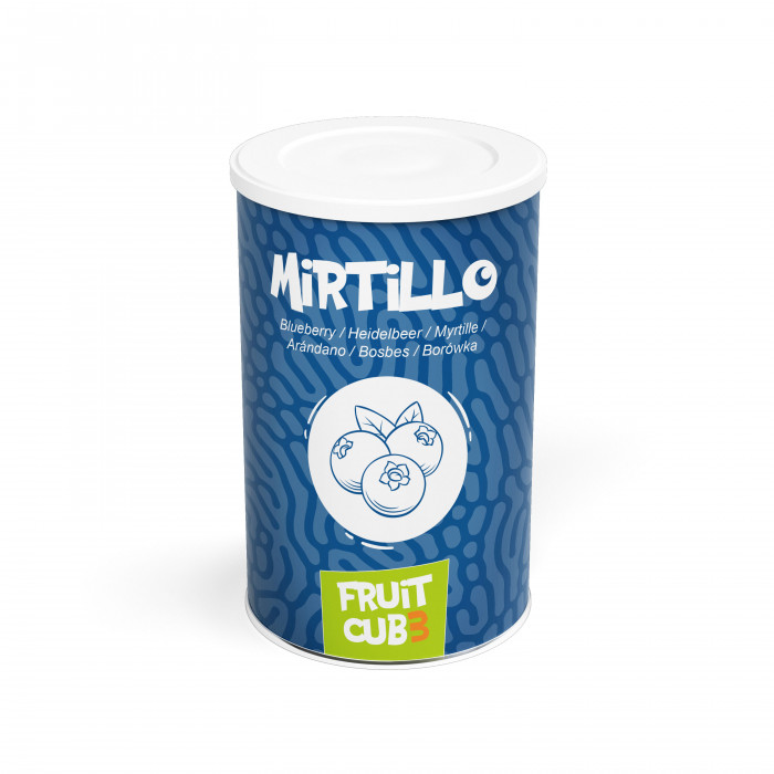Prodotti per gelateria | Acquista online su Gelq.it | FRUITCUB3 MIRTILLO  Leagel in Paste di frutta