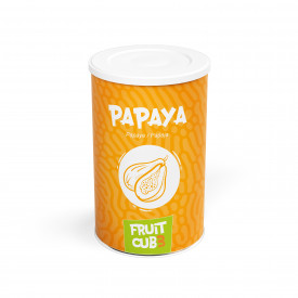Prodotti per gelateria | Acquista online su Gelq.it | FRUITCUB3 PAPAYA di Leagel. Paste frutta gelato.
