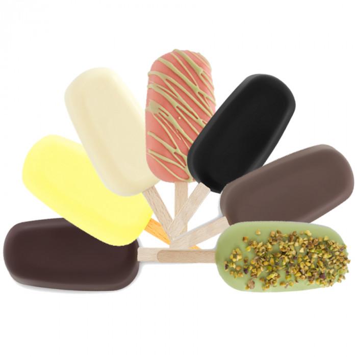 Prodotti per gelateria | Acquista online su Gelq.it | BASE STICK 150 CF - GELATO SU STECCO di Rubicone. Basi gelato 100.