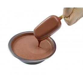 Prodotti per gelateria | Acquista online su Gelq.it | STICKAWAY CIOCCOLATO AL LATTE - COPERTURA di Leagel. Coperture per gelato.
