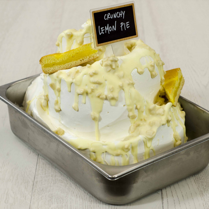 Prodotti per gelateria | Acquista online su Gelq.it | VARIEGATO CHOCO LEMON di Leagel. Creme croccanti per gelato.