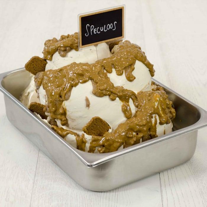 Prodotti per gelateria   Acquista online su Gelq.it   VARIEGATO CHOCO SPECULOOS di Leagel. Creme croccanti per gelato.