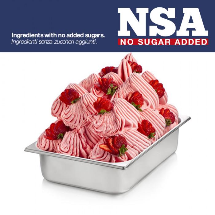 Prodotti per gelateria | Acquista online su Gelq.it | BASE PRONTO FRAGOLA NSA - LIGHT & MILK FREE di Rubicone. Basi complete gel