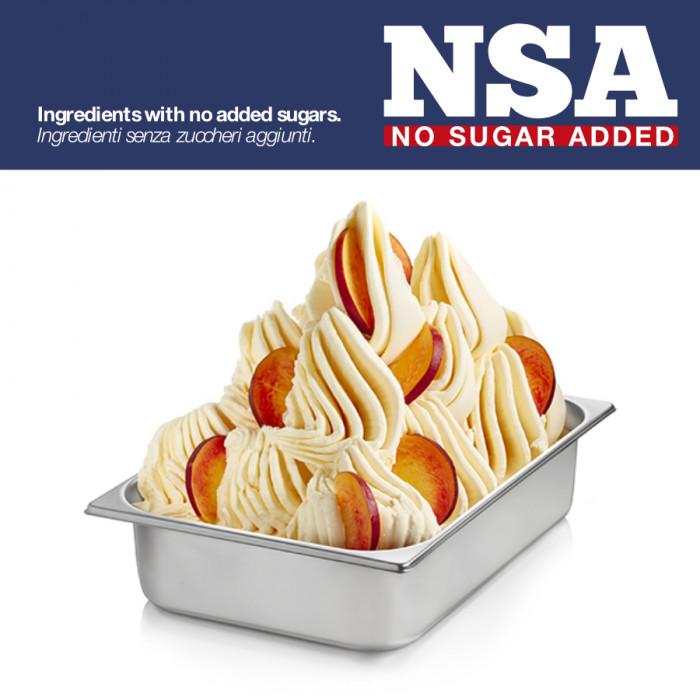 Prodotti per gelateria | Acquista online su Gelq.it | BASE PRONTO PESCA GIALLA NSA - LIGHT & MILK FREE di Rubicone. Basi complet