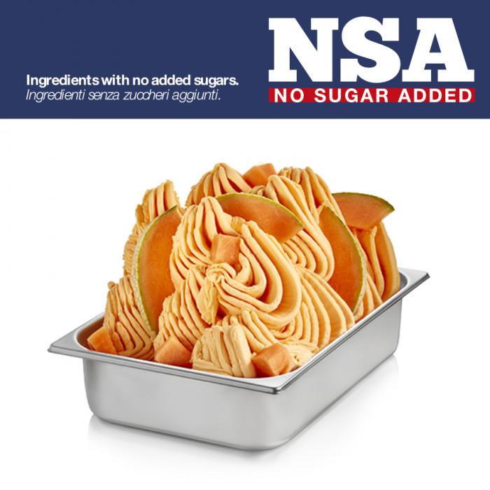 Prodotti per gelateria | Acquista online su Gelq.it | BASE PRONTO MELONE NSA - LIGHT & MILK FREE di Rubicone. Basi complete gela
