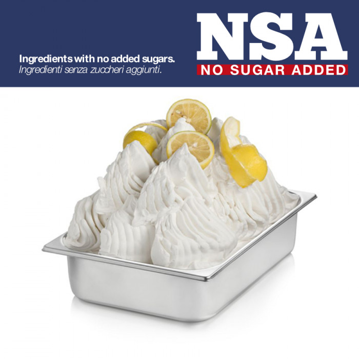 Gelq.it | BASE READY LEMON NSA - SUGAR & MILK FREE Rubicone | Italian gelato ingredients | Buy online | Complete fruit ice cream