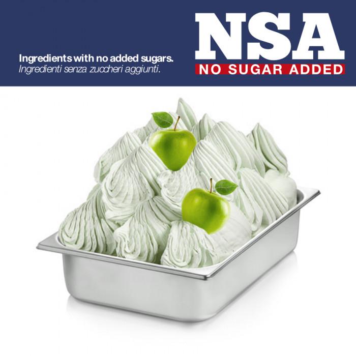 Gelq.it | BASE READY GREEN APPLE NSA - SUGAR & MILK FREE Rubicone | Italian gelato ingredients | Buy online | Complete fruit ice