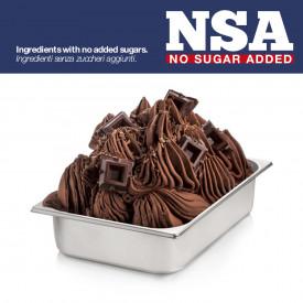 Prodotti per gelateria | Acquista online su Gelq.it | BASE CIOCCOLATO NSA - SUGAR & MILK FREE di Rubicone. Basi gelato al ciocco