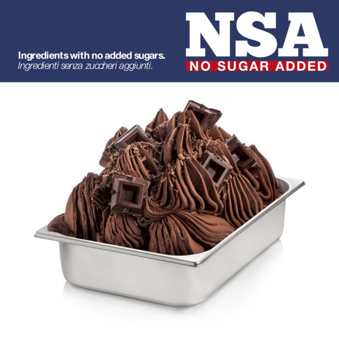 Gelq.it | BASE CHOCOLATE NSA - SUGAR & MILK FREE Rubicone | Italian gelato ingredients | Buy online | Chocolate ice cream bases