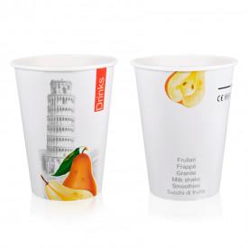 Italian gelato ingredients | Ice cream products | Buy online | DRINK PAPER CUP 45C - 400 ML. DRINKS & CITY Medac on Drink & hot
