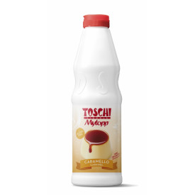 Italian gelato ingredients | Ice cream products | Buy online | TOPPING CARAMEL Toschi Vignola on Topping sauces